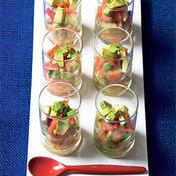 Salmon tartare with avocado (1)