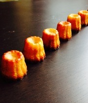 Savory canelés with thyme