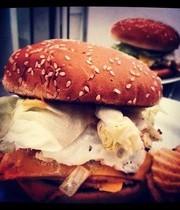 Stove top Castle Burger