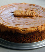 Spicy speculoos cheesecake