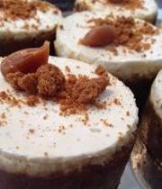 Cheesecake spéculoos et panna cotta