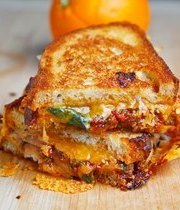 Cheesy chicken sandwich