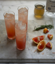 Blood orange gin cocktail