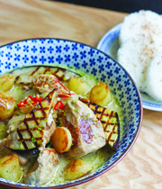 Thai veal curry
