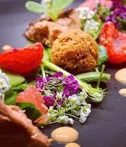 Foie Gras crus et cuits et fruits