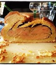 Foie Gras in a brioche crust