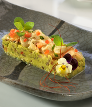 Guacamole with Gilthead Bream Ceviche