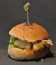 Foie Gras Hamburger