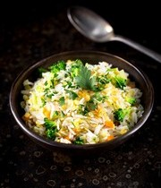 Kitchari winter vegetable medley