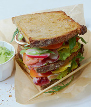 Yvan Cadiou's club sandwich
