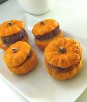 Mini-stuffed pumpkins