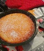 Molten lemon cake