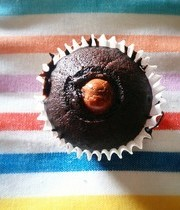 Soft centered Schokobon cake