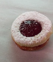Shortbread and jam