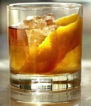Smoky Old Fashioned