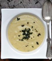 Sweet potato soup with sage