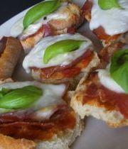 Sandwich and salad