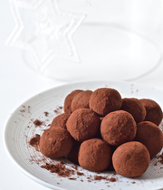 Yuzu truffles (vegan)
