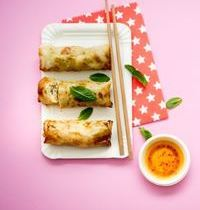 Spring rolls with pork
