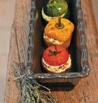 Vegetarian - stuffed vegetables