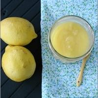 Dessert avec du citron