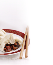 Banh Bao (steamed pork bun)