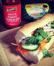 """Vietnamese """"""""Banh mi"""""""" sandwich"""
