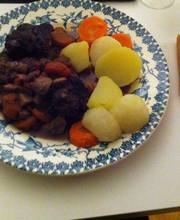 Old fashioned Beef Bourguignon