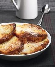 Michel Troisgros' baked French toast (with brioche)