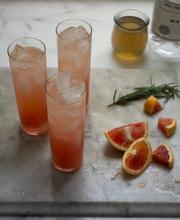 Blood orange gin cocktail