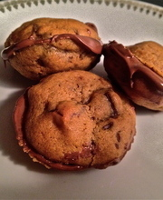 Whoopie-like nutella® cookies