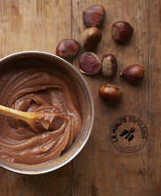 Homemade chestnut paste