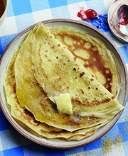 "Yvan Cadiou's recipe for """"The pancake"""" on Pancake Day!"