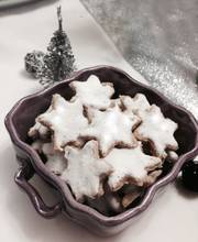 Cinnamon Christmas stars or Zimtsterne bredele