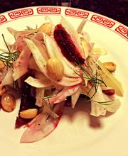 Fennel & Blood Orange Salad with Marcona Almonds and Parmesan