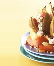 Roasted figs with Boursin® cheese