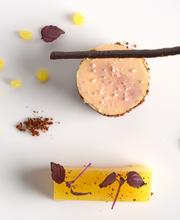Duck foie gras / Pear / Orange / Fig