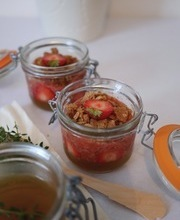 Lemon-thyme strawberries