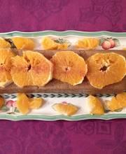 Cinnamon orange semolina cake