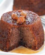 Chestnut fudge cake