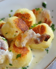 Franche-Comte gnocchi with Mont d'Or cheese