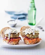 Indian veggie burgers