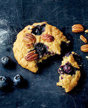 Marie Laforet's blueberry-pecan-maple cookies