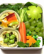 Le Bento de la Saint-Patrick par Mon Bento Vegetarien