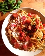 Linguine for dining with friends