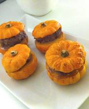 Mini-stuffed pumpkins