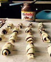 Mini Croissant Nutella