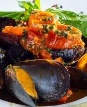 Bordeaux-style mussels
