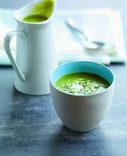 Asparagus and almond flan