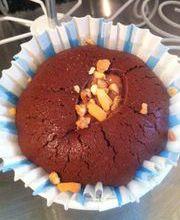 Muffin coeur NUtella